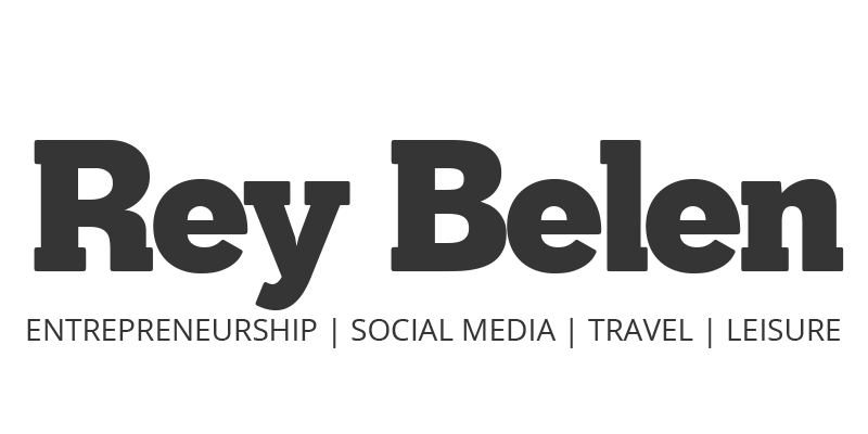 Rey Belen : Business, Leisure & Travel Blogging
